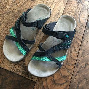Merrell slip on sandals